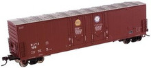 Atlas O David Joseph Co.  53'  Double plug door  box car, 3 rail or 2 rail