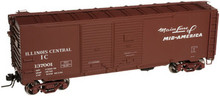 Atlas O IC  AAR 40' Double door box car, 3 rail or 2 rail