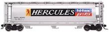Atlas O Hercules Chemical  Cylindrical Covered  Hopper, 3 rail or 2 rail