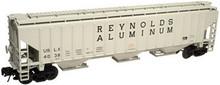 Atlas O Reynolds Aluminum PS4750 3 bay covered hopper..