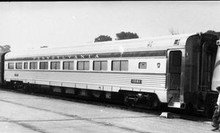Golden Gate Depot PRR Congressional parlor car, 2 rail