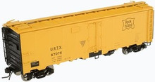 Atlas O Rock Island URTX 40' steel reefer, 2 rail