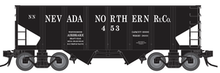 PDT exclusive Atlas O Nevada Northern USRA 2 bay hopper,