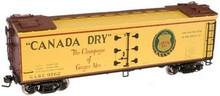 Atlas O Canada Dry 40' wood reefer, 3 rail or 2 rail