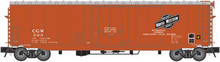 Atlas O CNW/CGW modernized 50' plug door box car