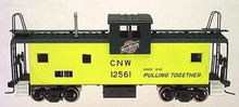 Atlas O CN&W  Extended Vision caboose, 2 rail