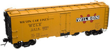Atlas O Wilson Car Lines  40' steel reefer, 3 rail or 2 rail