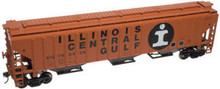 Atlas O ICG  PS4750  3 bay covered hopper, 3 rail or 2 rail