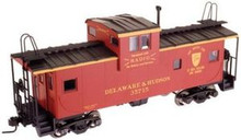 Atlas O (trainman) D&H  Extended Vision caboose, 2 rail