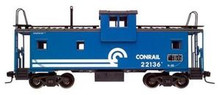 Atlas O CR  Extended Vision caboose, 3 rail or 2 rail