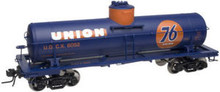 Atlas O Union 76 Oil 8000 gallon tank car, 3 rail or 2 rail