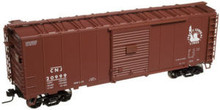 Atlas O CNJ 40' (PS-1)  box car (tuscan),  3 rail or 2 rail