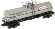 Atlas O Fuelgas 11,000 gallon tank car, 3 rail or 2 rail