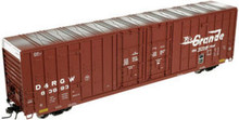 Atlas O Rio Grande  60' Hy-cube box car, 3 or 2 rail