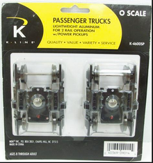 K-line  Lightweight passenger car trucks, 2 rail (pair)