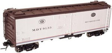 Atlas O MDT  40' steel reefer, 3 rail or 2 rail
