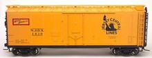 Atlas O CNJ  40' steel reefer, 3 rail or 2 rail