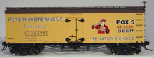 Atlas O Peter Fox Beer 36' wood reefer, 3 or 2 rail