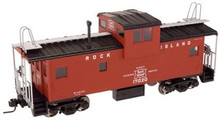 Atlas O Rock Island  Extended Vision caboose, 2 rail