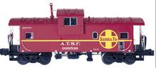 Atlas O Santa Fe Extended Vision caboose, 3 rail