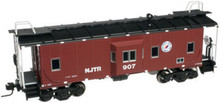 Atlas O  NJT   Bay window caboose,  3 rail or 2 rail