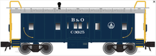 Atlas O B&O bay window caboose, 3 rail