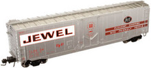 Atlas O Jewel Tea 50' plug door box car, 3 or 2 rail