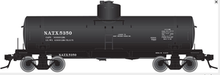Atlas O NATX 8000 gallon tank car, 3 rail or 2 rail