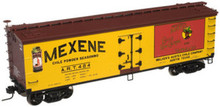 Atlas O Mexene 40' wood reefer, 3 rail  or 2 rail