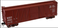 Atlas O Maine central 40' single sheathed box car, 3 or 2 rail