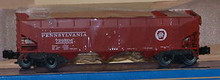 Weaver PRR 3 bay offset hopper car, 3 rail or 2 rail