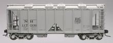 Atlas O NH  ACF 34' Covered Hopper, 3 rail or 2 rail