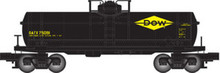 Atlas O Industrial Rail Dow Chem tank car, 3 rail, 027