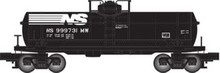 Atlas O Industrial Rail NS tank car, 3 rail, 027