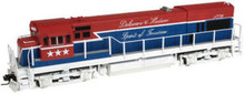 Atlas O D&H spirit of 76 U23b diesel, 3 rail, Horn/bell