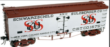 Atlas O S&S  36' wood reefer,  3 rail