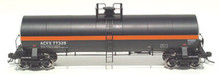 Atlas O ACFX (red stripe)  17,360 gallon tank car, 3 rail or 2 rail