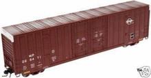 Atlas O MoPac  60' Hy-cube  box car,  3 rail or 2 rail