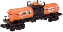 Atlas O Industrial Rail Hooker tank car, 3 rail, 027