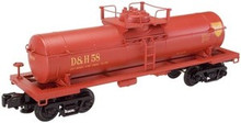 Atlas O Industrial Rail D&H  tank car, 3 rail, 027