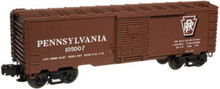 Atlas O Industrial Rail PRR  box car, 3 rail, 027