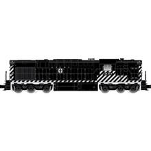 Pre-Order Atlas O Santa Fe Alco RSD-15, Zebra Stripe High Hood, 3 rail or 2 rail