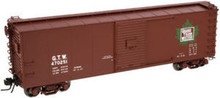 Atlas O GTW (maple leaf) 40' USRA steel box car, 3 rail or 2 rail