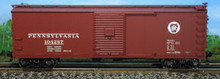 Atlas O PRR  40' USRA steel  box car, 3 or 2 rail