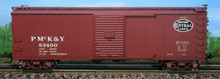 Atlas O PMcK&Y/NYC  USRA 40' steel  box car, 3 or 2 rail