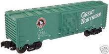 Atlas O Industrial Rail GN box car, 3 rail, 027