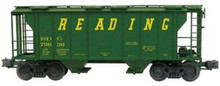 Weaver Reading  PS-2 covered  hopper car, 3 or 2 rail