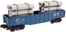 Atlas O Industrial Rail GTW  gondola, 3 rail, 027