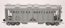 Atlas O WM (speed letters) ACF Covered Hopper, 3 rail or 2 rail