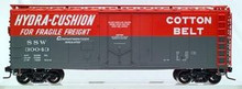 Atlas O Cotton Belt 40' steel reefer, 3 rail or 2 rail